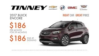 Special Holiday Offers on New 2017 Buick Encore Crossovers | Tinney Automotive Greenville MI