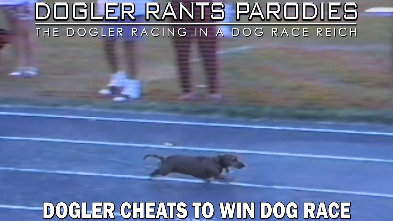 Dogler cheats to win Dog race