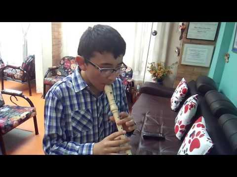 Frozen En Flauta Dulce Con NOTAS