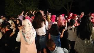 DEMİRCİ'NİN ESENYURT KÖYÜNDE BENGÜL ŞALAK FATİH ÇİFTİNİN KINA TÖRENİ.01-08-2018..