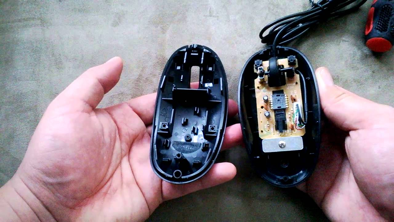 Taking Apart My Broken Lenovo Usb Mouse Only One Screw On The Optical Wiring Diagram Bottom Msu1111 Part Youtube