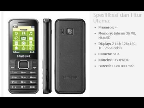 Harga HP: SAMSUNG Caspi E3210
