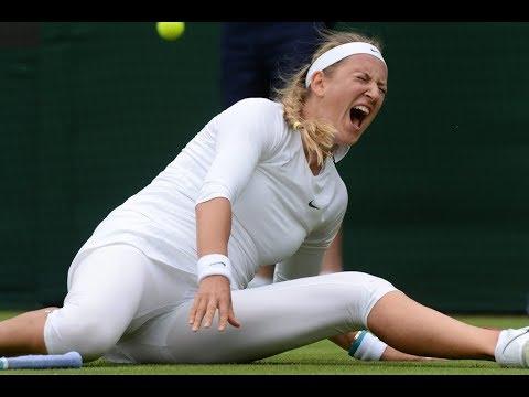 The worst injury in the history of tennis (Victoria Azarenka) HD