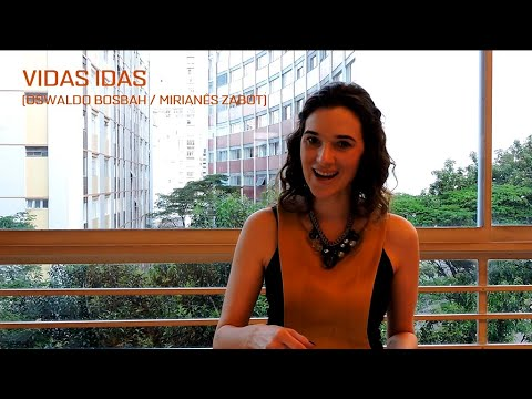 Making Of música: Vidas Idas (Oswaldo Bosbah/Mirianês Zabot) - Mirianês Zabot canta Gonzaguinha