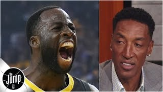 Download Scottie Pippen reacts to Draymond Green calling himself the best defender ever | The Jump Mp3 and Videos