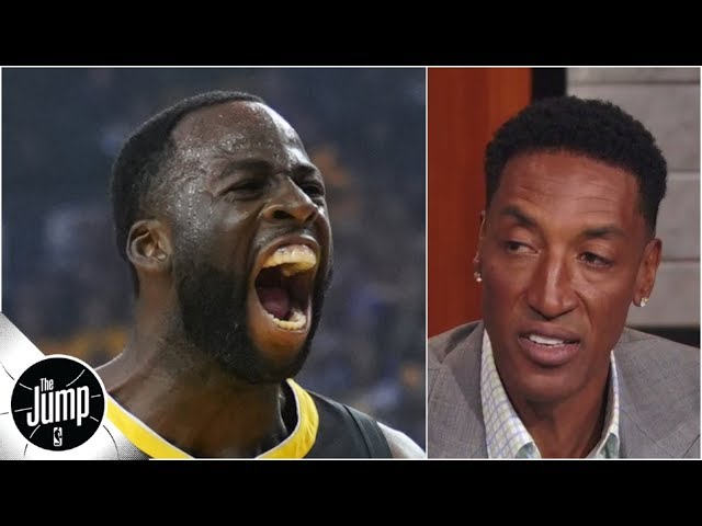 Scottie Pippen reacts to Draymond Green calling himself the best defender ever | The Jump