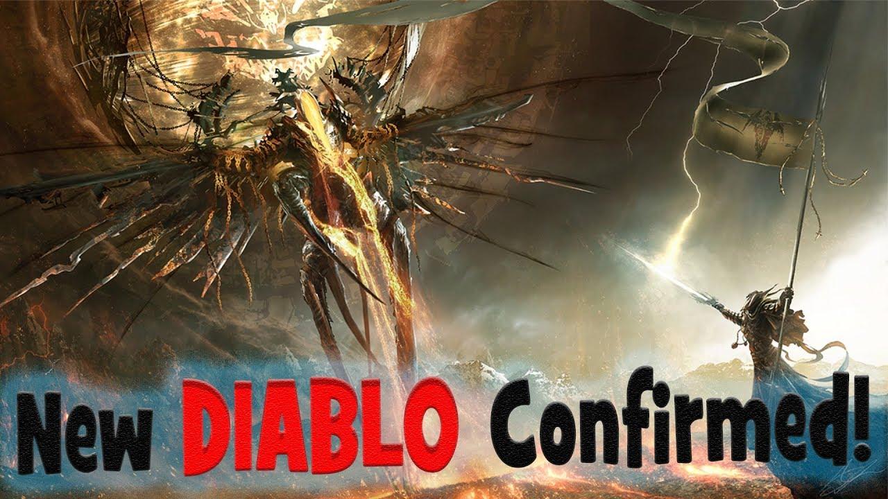New DIABLO GAMES Confirmed! Diablo 4, Diablo 2 Remastered, Diablo MOBILE  (JK)