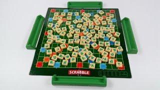 Unboxing SCRABBLE Original 2017 | How to Play Scrabble - Every Word Counts! Как играть в Scrabble 🕴