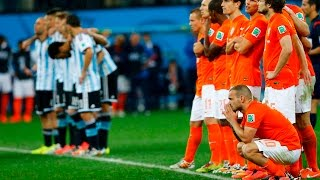 Argentina - Netherlands Penalty shootoutWorld Cup Semifinal