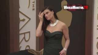 Idina Menzel, Kristen Bell, Dax Shepard 86th Annual Academy Awards Redcarpet