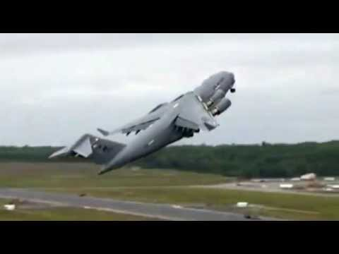 Boeing C-17 Globemaster crash B-52 Jet Crash All Hell breaks loose video