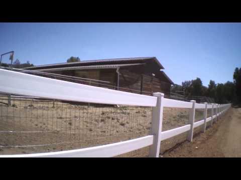 500' of farm fence