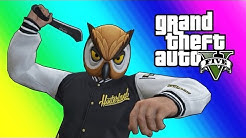GTA 5 Online Funny Moments - Lowrider Hydraulics & Machete Battles!