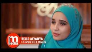 """Bella Ammara dari modal RM1000 kini peniaga """"telekung"""" berjaya"""