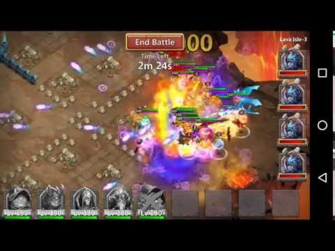 Castle Clash Lava 3 With Trixie Treat & Pet's