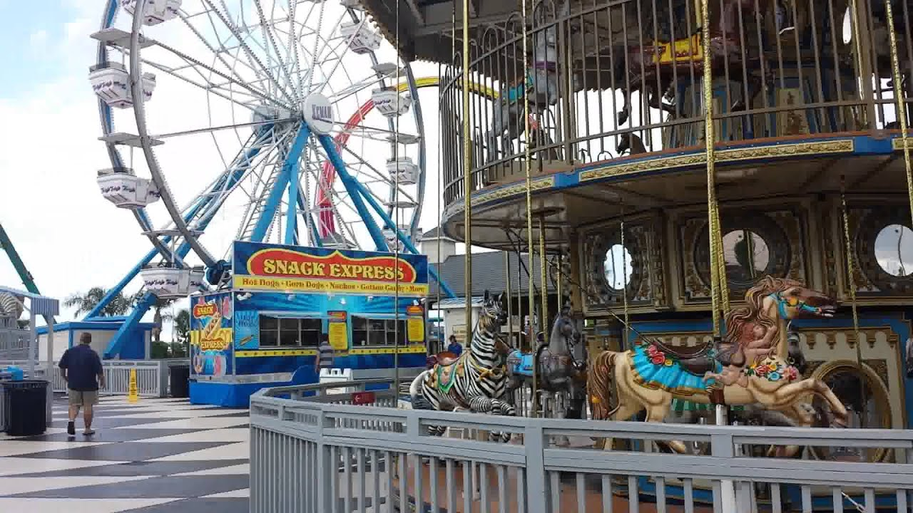 Kemah Boardwalk in Houston YouTube