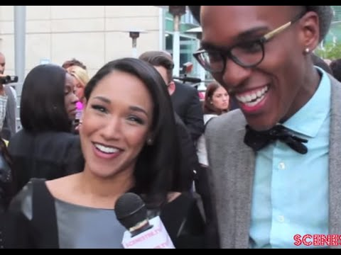 Actress Candice Patton from CW The Flash at From The Rough Movie Premiere