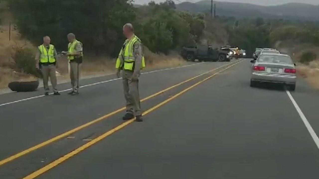 Ortega Highway - Fatality
