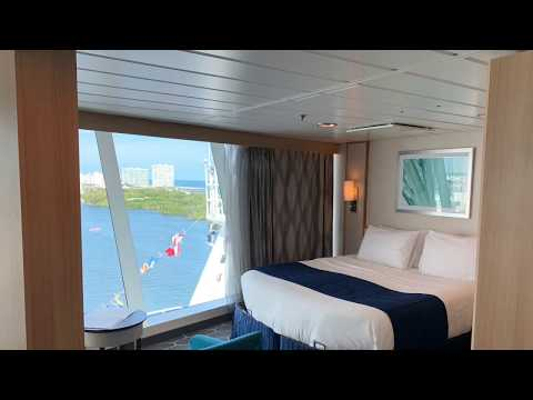 The Ocean View Panoramic Suite #1854 on Royal Caribbean's Adventure of the Seas.