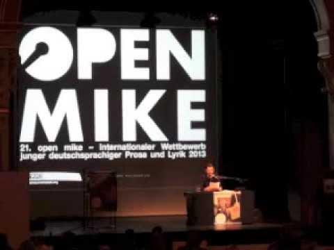 21. open mike, erster Leseblock, Samstag, 09. November 2013