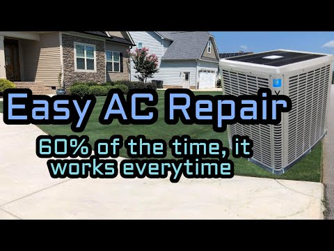 How to Fix an AC Unit That Blows Hot Air - HVAC Repair