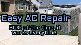 How to Fix an AC Unit That Blows Hot Air - HVAC Repair