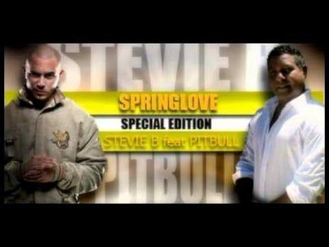 STEVIE B VS  PITBULL  SPRING LOVE wwwilove80combr