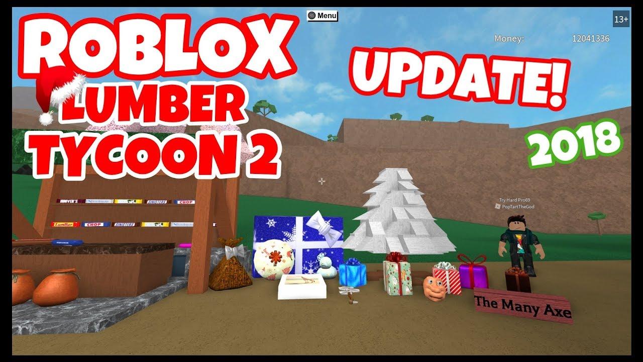 Lumber Tycoon 2 | Christmas Update 2018
