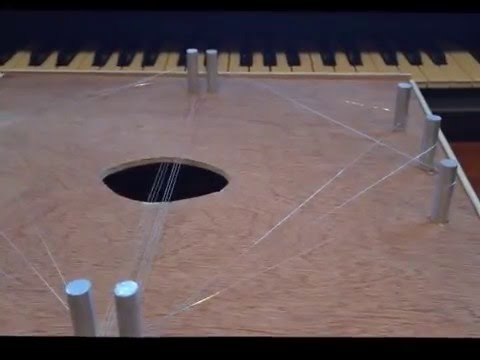 Just Triangles Musical Instrument
