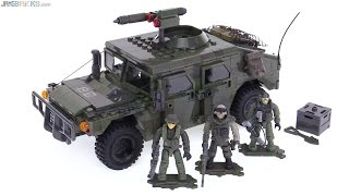 Mega Bloks CoD Armored Vehicle Charge (HMMWV) set review
