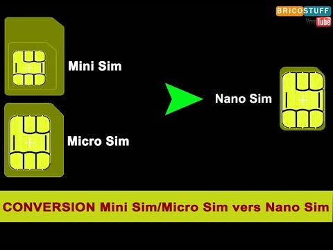 How to make nano sim from micro