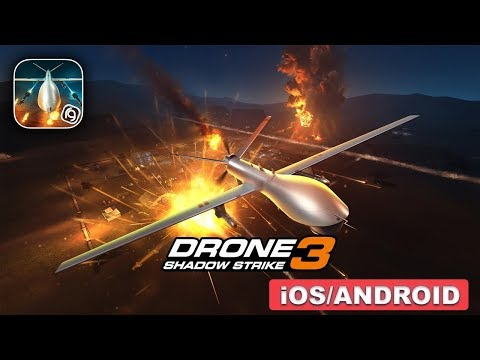 DRONE : SHADOW STRIKE 3 - iOS / ANDROID GAMEPLAY