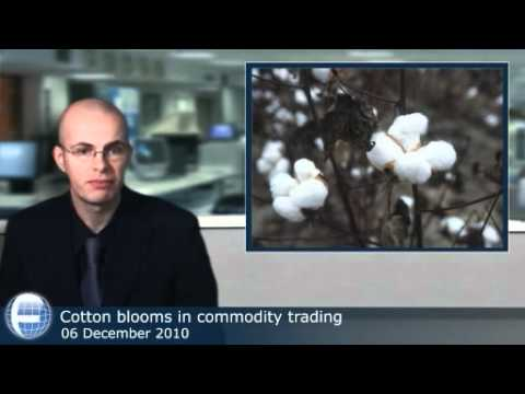 Cotton blooms in commodity trading
