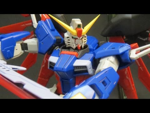 RG Destiny review (1: Unbox) Gundam Seed Destiny Shinn Asuka's Real Grade gunpla model ガンプラ