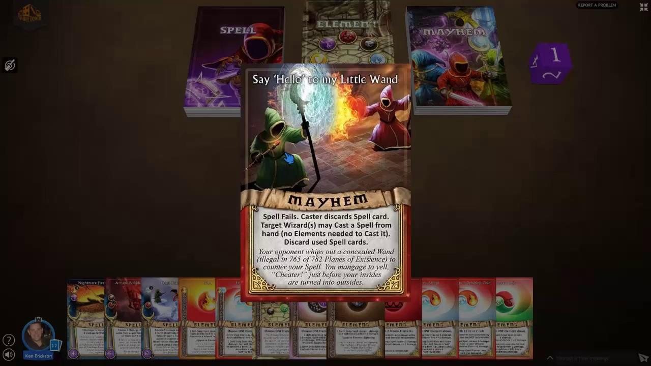 Learn to Play Magicka Mayhem Card Game: Tutorial Video #2 - Mayhem ...