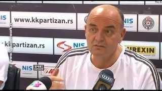 Vujošević: Partizan se bori za opstanak