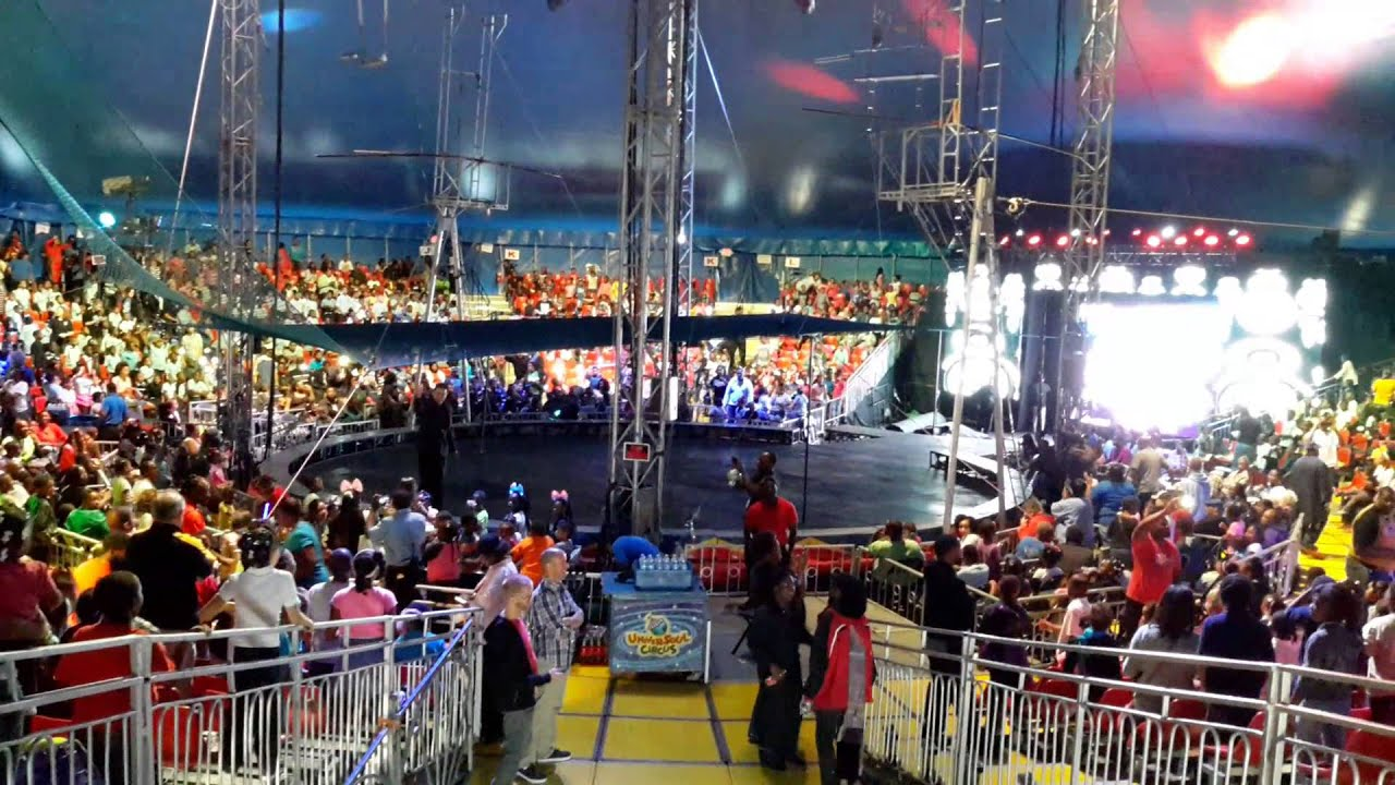 Dj Shawn Kelley Live In Milwaukee At The Universoul Circus 2014