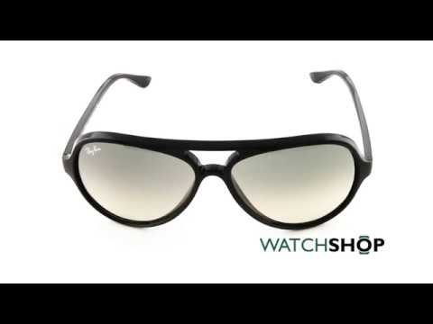 e4df1d82458 Ray-Ban Men s Cats 5000 Classic Sunglasses (RB4125-601 32-59) - YouTube