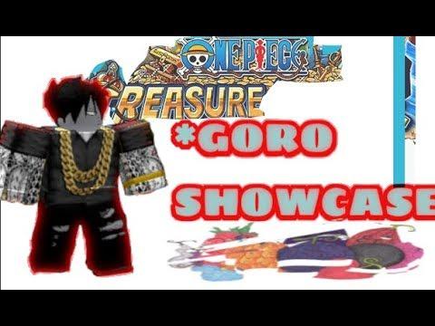 One Piece Treasure- HOW TO GET DF/ Goro showcase!!!