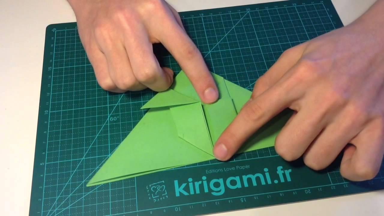 tuto origami tortue de mer
