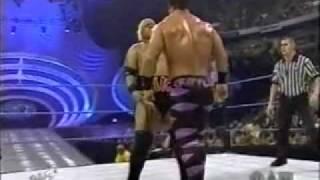Rikishi vs Chris Benoit (WWF Intercontinental Championship Match)