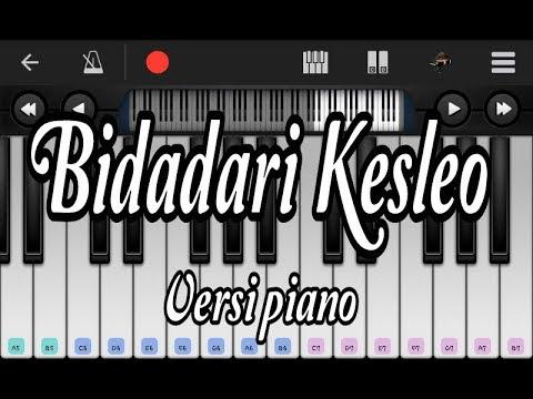 Bidadari kesleo versi piano / perfect piano