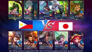 Heroes Arena: Philippines vs Japan