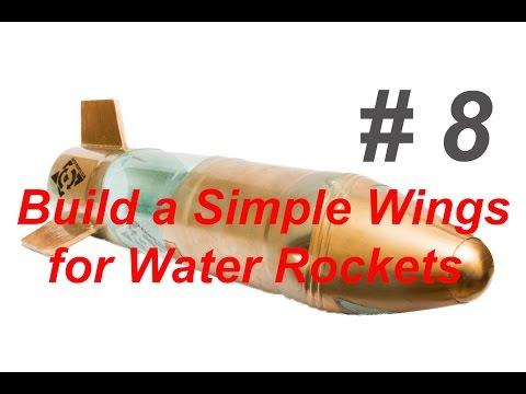 Build a Simple Fins for Water Rockets/ Делаем простые стабилизаторы для ракеты