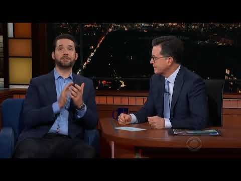 Reddit CEO Talks Bitcoin On The Late Show With Stephen Colbert