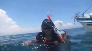 Roshita A Mittal enjoying Scuba adventure Diving  in sea at Bali Indonesia on 25 10 2013