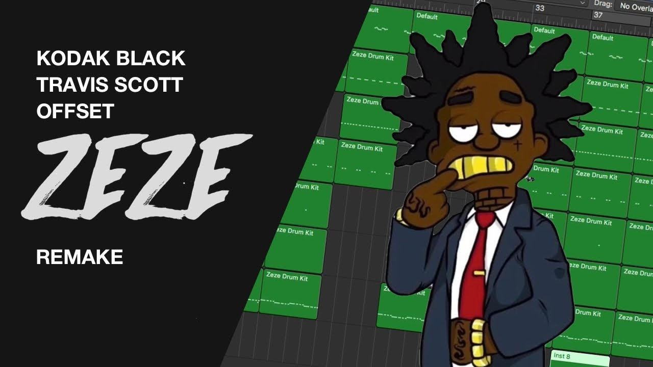Making a Beat: Kodak Black - ZEZE feat  Travis Scott & Offset (IAMM