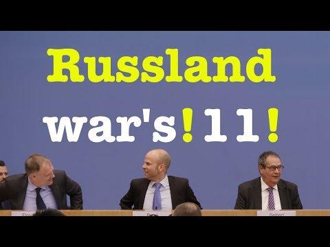 16. März 2018 - Sehenswerte Bundespressekonferenz (RegPK)