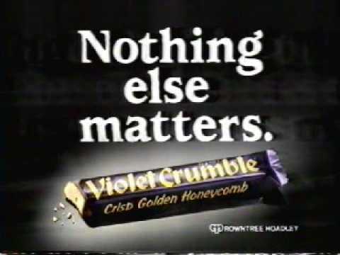 Australian Violet Crumble Commercial - 1987
