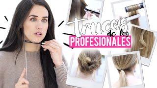 10 trucos de cabello de los profesionales que sí funcionan | Patry Jordán